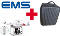 Fast Shipping Newest DJI Phantom 2 V3.0 Drone RTF With Zenmuse H3-3D Extra Waterproof Packback Bag For Gopro Hero 3 Camera FPV