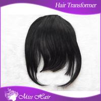 30gram clip in bang - #1 #4 #613 colorful front hair fringe -classic bangs human  free shipping