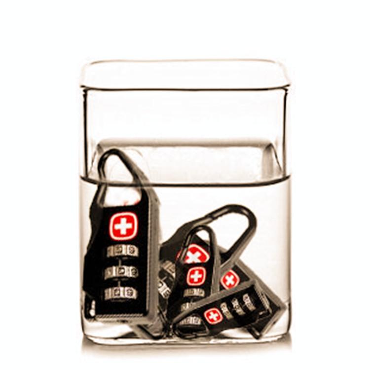 10pcs/lot Famours Brand Imported Swiss Password Lock Anti-theft Lock High Quality Padlock Luggage Wardrobe Lock(China (Mainland))