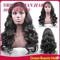 Virgin Full Lace Wigs Cheap Glueless Full Lace Wigs Human Hair Virgin Body Wave Brazilian Wigs For Black Women Long Deep Wave