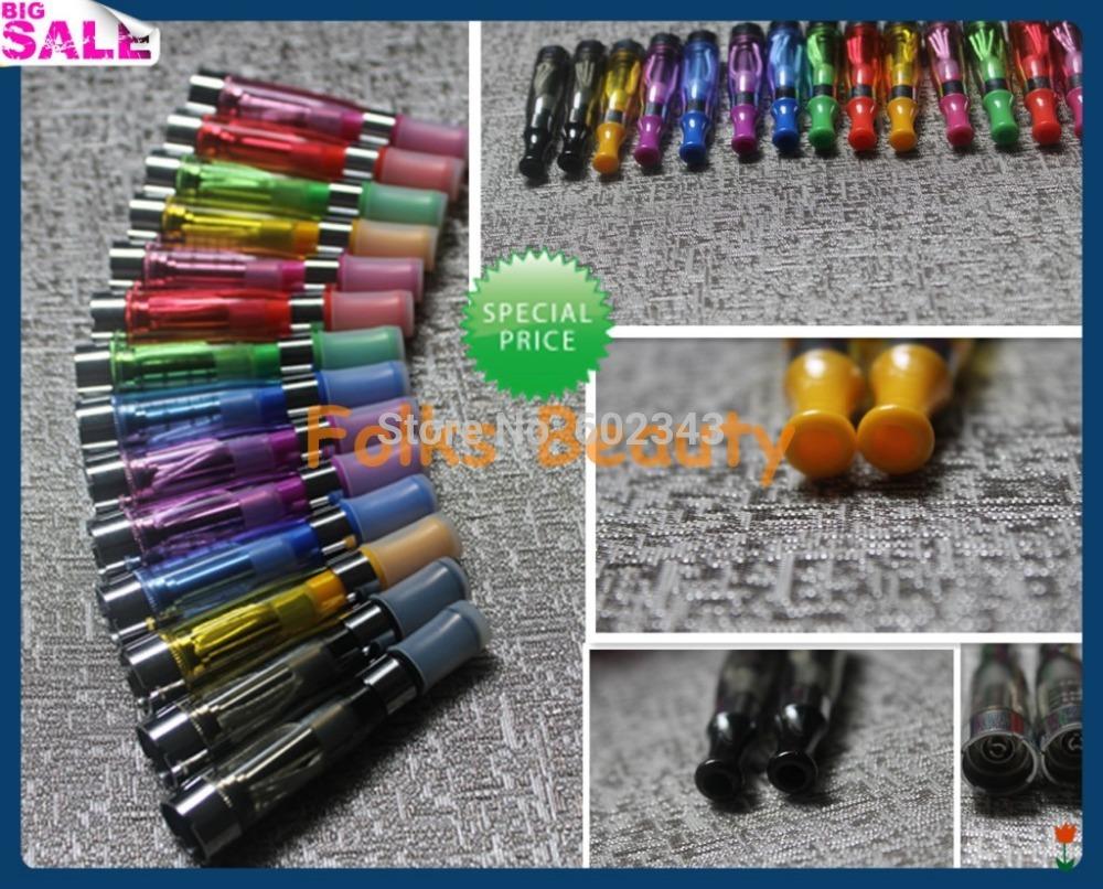 Electronic 2014 New CE4 atomizer eGo Atomizers Clearomizer for Ego Electronic cigarette e cigarettes 1.6ml 7 Colors(China (Mainland))