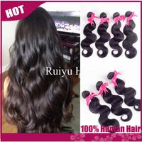 "Brazilian virgin hair body wave 3/4pcs lot rosa hair products,brazilian hair bundles 8""-30""cheap human hair extension very soft"