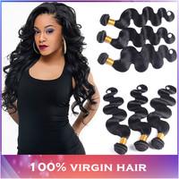 4pcs/ lot Malaysian virgin hair body wave 5A unprocessed human hair, Modern show hair products Virgin Malaysian body wave weaves