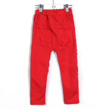 Free Shipping 2014 Children Autumn All-match Harem Pants for Boys/Girls Long Fashion Trousers K2262(China (Mainland))
