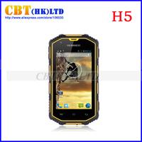 2014 Original Hummer H5 Waterproof phone Smartphone android 4.2 IP68 phone 3G GPS Capacitive Screen WCDMA 512/4GB Waterproof