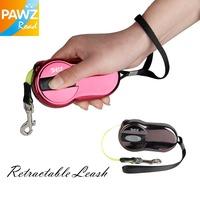 Free shipping Dog Leash Pet Leash Automatic Retractable Leash 2M Ellipse Design 2 Color for puppy