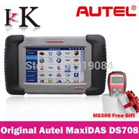 DHL & EMS Free! 100% Original Autel MaxiDAS DS708 Automotive Diagnostic System Autel DS708 Free Online Update Multilanguages