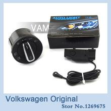 VW volkswagen car Auto Headlight Sensor And Switch buttons For GOLF 5/6 mk5 mk6 Tiguan Passat B6 Touran Jetta MK5 5ND 941 431B(China (Mainland))