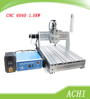 Free shipping CNC 6040 1.5KW spindle 3 axis engrave machine110/220V cnc router Carving Machine Engraver Drilling Milling Machine