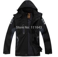 2015 Spring Autumn Mountain Climbing Camping Hiking Jackets Men Outdoor jacket Sportswear Breathable Waterproof Outerwear #13915