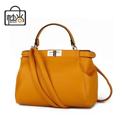 DUSUN brand design women bag fashion women handbag messenger bag sweet ladies bag small Litchi leather party bolsas femininas(China (Mainland))
