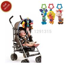 neue 2015 baby-spielzeug 3pcs/lot rassel meine erste Klirren Trio glöckchen multifunktionale plüschtier kinderwagen handy geschenke versandkostenfrei(China (Mainland))