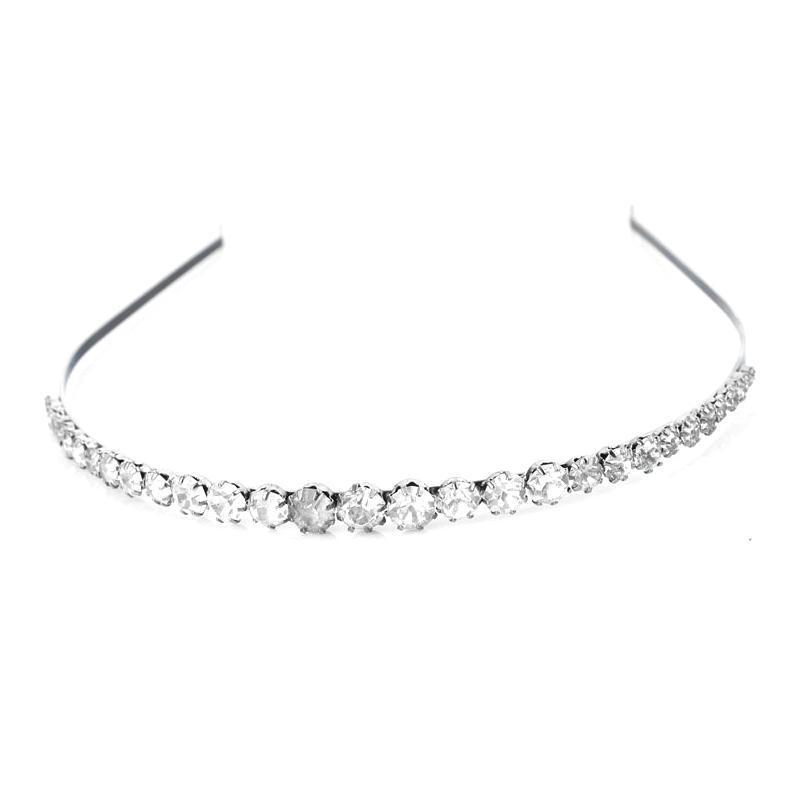 Hot sales Korea crystal hair band fashion hair clip charm wedding hair accessories hair jewelry free