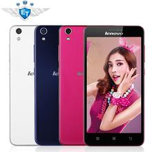 "Original Lenovo S850 3G Cell Phone MTK6582 Quad Core Android 4.4 5"" IPS Dual Sim Dual Camera 13.0MP GPS WCDMA White Pink Blue(China (Mainland))"