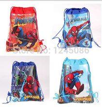 envío gratis 20pcs/lot nueva llegada congelado bolsas de cordón dos- cara bolsas de congelados anna elsa mochila de los niños(China (Mainland))