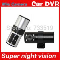 Car black box mini spy camera dash cam  black original tf card dvr camera detector de radar
