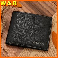 Fashion classical mens wallet genuine leather man purse designer men's leather wallet men's wallets money clip ZC8039A