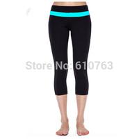 Most popular  design women fitness wear capris, supplex high end sports clothing women yoga capris