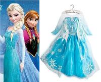 Fantasia Frozen Costume Elsa Anna Dress Fantasy Kids Dresse Children Girls Movie Princess Christmas Cosplays Snow Queen Costumes
