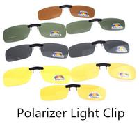 Polarizing Glasses Polarized Polarizer Myopia NIGHT VISION PORN CLIPS Clip-ON Flip-UP Lens Day Night Vision Sunglasses Driving