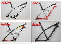 Light Mountain bicycle LOOK 986 full carbon fiber frames mtb bike frameset with e-post 26er carbon bike 29er model available