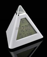 2014 New Modern Digital LCD Screen Mini Desktop 7 Color LED Projector Alarm Clock with Backlight+Calendar+Temperature #7 TK0614