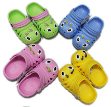 2014 Summber Caterpillar style children boys and girls beach hollow slippers sandals shoes(China (Mainland))