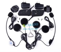 2 x BT Interphone Bluetooth Motorcycle Helmet Multi Intercom headset for 6 Riders b8 SV005297