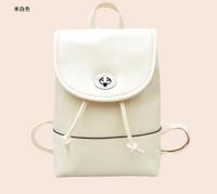 Mochila Mochila Feminina 2015 New Fashion Mini Sweet Small Backpack Bags Women's Korean Leisure Leather Pouches Oil Trend Bag