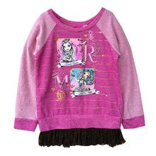 KNB New 2014 Cartoon Monster High Baby Kids Frozen Children Hoodies Autumn Spring Girl Clothing Sweatshirts Cotoon Coat ACT14111(China (Mainland))