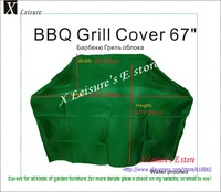 "BBQ Grill cover with ribbons  Water proofed cover 67""/170 cm Free shipping"