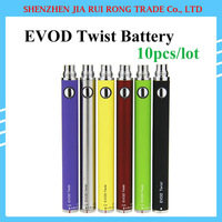 Ego/c Twist E E 650/900/1100 Cig 10pcs/lot eGo C Twist Battery