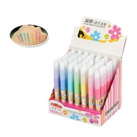 One Piece 7 colors Coloured pens Magic Graffiti Pen kids Drawing Toys Kids Baby preschool educational toy Wholesale retail 35-10