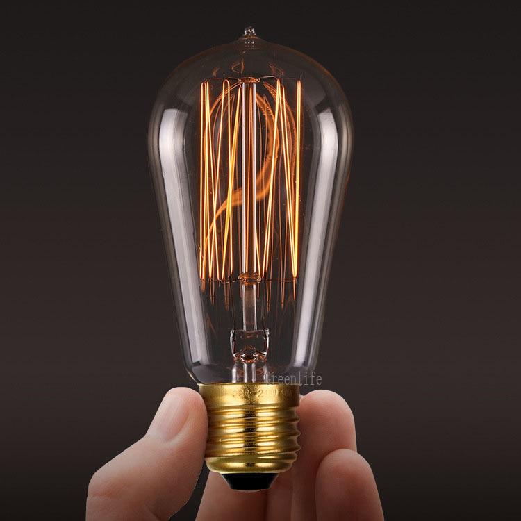 light bulb edison bulb fixtures e27 110v 220v 40w lamp bulbs for. Black Bedroom Furniture Sets. Home Design Ideas