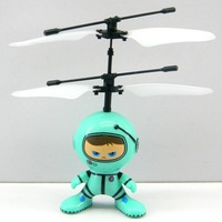2014 New Remote Control Toys 2 Channel Infrared RC Helicopter Toys Hovering and Flying Robot Metal Green Free Shipping