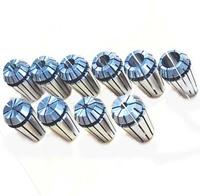 Promotion! 10pcs/set 1M-10M ER16 Silver Color Spring Collet Set For CNC Milling Engraving Machine Free Shipping