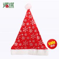 Christmas decoration christmas hats quality gold velvet bronzier 30g pattern