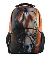 Hot Sale 3D Animal Felt Backpack Men Backpack Dog Face School Backpack Bag Men Travel Backpacks College Student school bag BP79