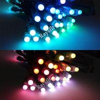 Led holiday lights 100pcs 12mm ws2811 IP65 waterproof module dc5v full color RGB led pixel
