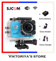 100% Original SJ4000 WIFI SJCAM Waterproof  Full  HD Action Camera GoPro camera Hero 3 Style WIFI Camera G-Senor Sport DV Camera