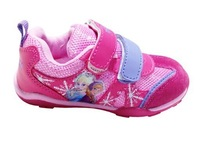 Winter frozen elsa anna children's fashion casual sport shoes,  girls running shoes, kid's fashion  sneakers size:26 - 30