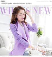 2014 new wool coat Korean influx fall of goods windbreaker coat large size