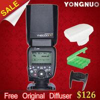 In Stock! YONGNUO YN600EX-RT 2.4G Wireless HSS 1/8000s Master Flash Speedlite for Canon  Radio Trigger System as 600EX-RT