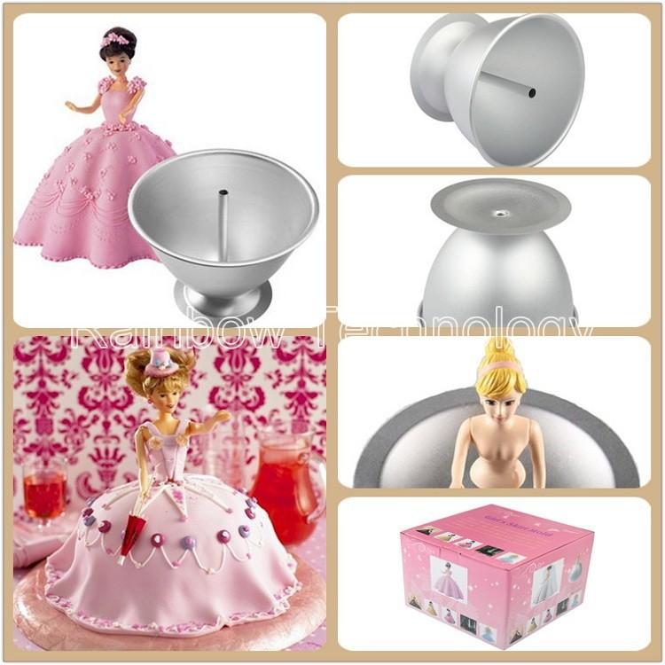 Aluminium Cake Forms De Bolo Barbie Doll Mold
