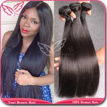 Grade 6A Malaysian Virgin Hair Straight Bundles,Unprocessed Malaysian Straight Hair 3 Bundles,100% Straight Human Hair Extension(China (Mainland))
