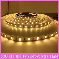 1x Super Bright Christmas Home lighting 300 leds 5 meters LED Strip Light Non-Waterproof 5630 SMD Flexible 12V ip65 60LED/m
