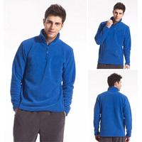 IKAI Man's Thick Fleece Jacket Winter Warm Outdoor Sportswear Breathable Wear-Resistant Windproof Soft Shell Coat HMJ0002