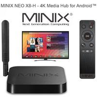 MINIX NEO X8-H X8 H X8H Amlogic S802-H Quad Core 2.0GHz 2G/16G 2.4G/5GHz WiFi XBMC Player IPTV Smart TV Mini PC Android TV Box