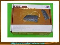 Hottest and newest 4port USB Network printer Server 10/100/1000M SE-SK-304U