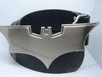 2012  Brand New Men's SuperHero BATMAN Belt Buckle With Belt H01 Free Shipping